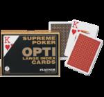Piatnik Opti-Poker kártya 2*55 lap