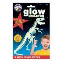 Brainstorm Glowstars T-Rex csontváz foszforeszkáló matrica