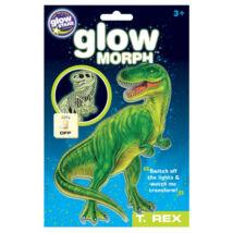 Glow Morph Foszforeszkáló T-Rex