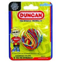 Duncan yo-yo zsinór multicolor, 5db