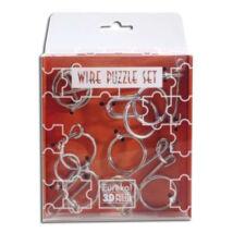 Mini Wire Puzzle szett narancs csomag