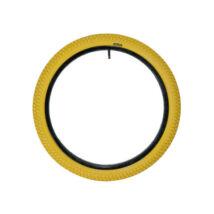"""QU-AX gumi 16"""" x 1.95, sárga"""