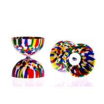 Play Rainbow Diabolo, 105mm, 260gr, ötszínű