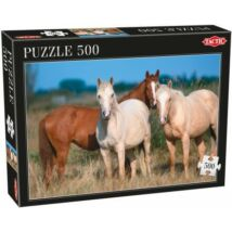 Három ló, 500 db-os puzzle