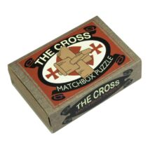 The Cross Matchbox Professor Puzzle ördöglakat
