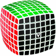 V-Cube 7x7 versenykocka, lekerekített fehér