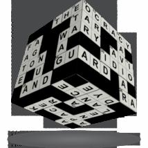 V-Cube 3x3 versenykocka Keresztrejtvény