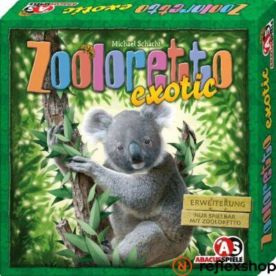 Abacus Zooloretto Exotic kiegészítő társasjáték