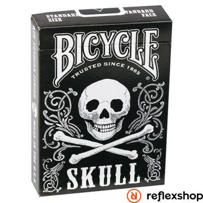 Bicycle Skull kártya