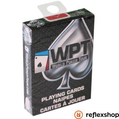 WPT póker kártya fekete-fehér