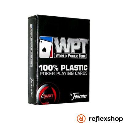 Bicycle WPT 100% plasztik jumbo index kártya