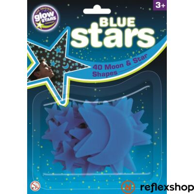 BS Cosmic Glow Kék Csillagok foszforeszkáló