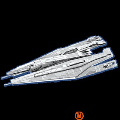 Metal Earth Mass Effect Alliance Cruiser