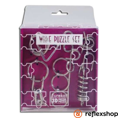 Mini Wire Puzzle szett lila csomag