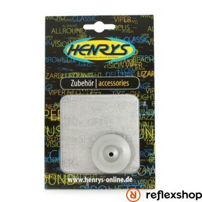 Henry's Viper yo-yo hub eloxált ezüst