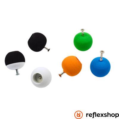 Henry's Round knob, fekete