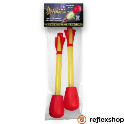 Stomp Rocket Ultra LED rakéta - utántöltő csomag