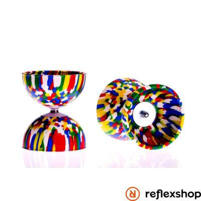 Play Rainbow Diabolo 105mm 260gr ötszínű
