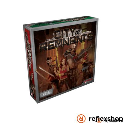 City of Remnants társasjáték angol nyelvű
