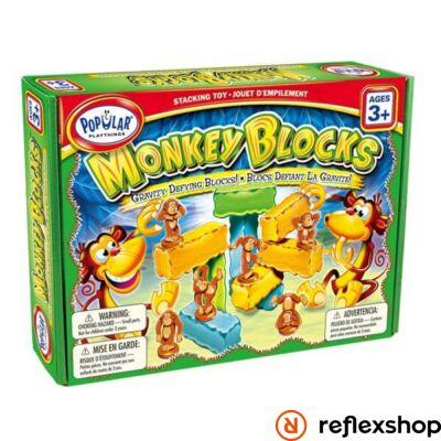 Popular Playthings Monkey Blocks építő játék