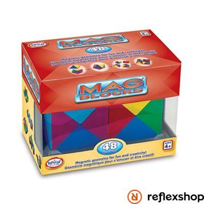 Popular Playthings MAG Blocks 48 darabos készlet logikai játék