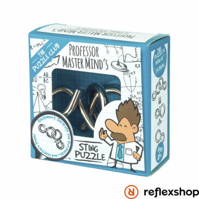 Puzzle Club - Master Mind's Sting fém ördöglakat