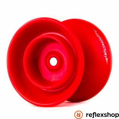 YoYoFactory Flight yo-yo piros