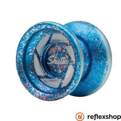 YoYoFactory Shutter yo-yo splash kék/ezüst/piros