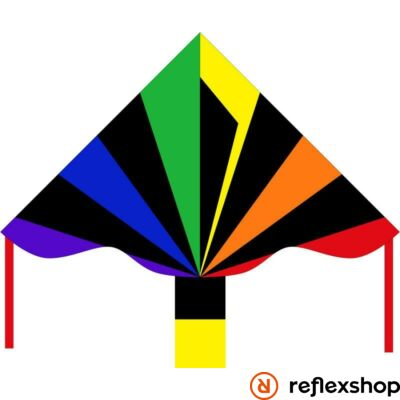 Invento Eco Line Simple Flyer Black Rainbow - 120 cm