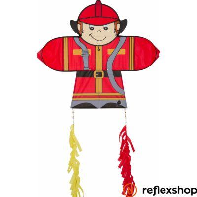 Invento Skymate Fireman - Tűzoltó egyzsinóros gyereksárkány