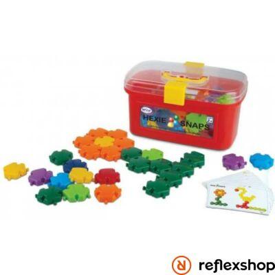Popular Playthings Hexie Snaps építő játék