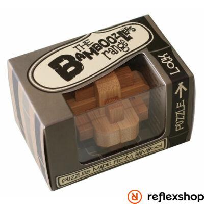 Lock mini Professor Puzzle bambusz ördöglakat
