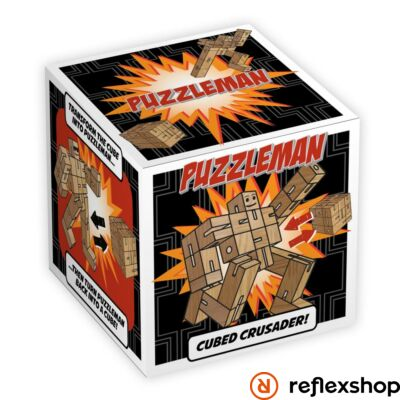 Puzzleman Professor Puzzle logikai játék natúr