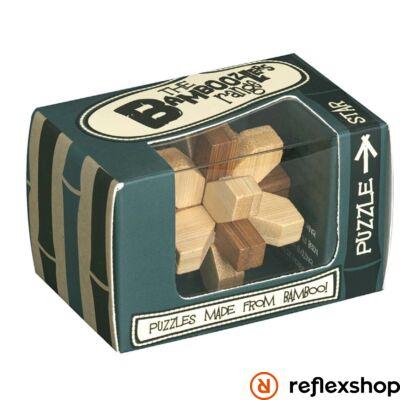 Star mini Professor Puzzle bambusz ördöglakat