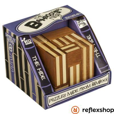 The Hide Professor Puzzle bambusz ördöglakat