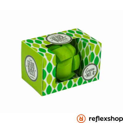 PP színes blokk puzzle zöld