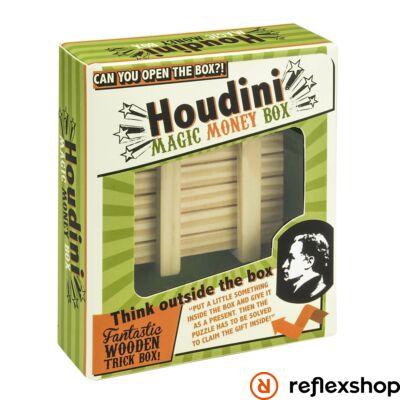 Houdini Magic Money Box Professor Puzzle ördöglakat