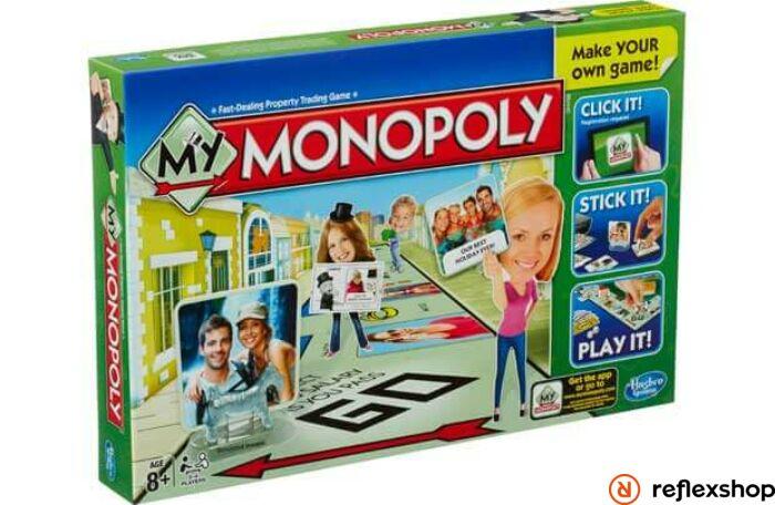 Hasbro My Monopoly társasjáték A8595