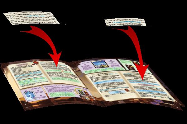 matrica könyv