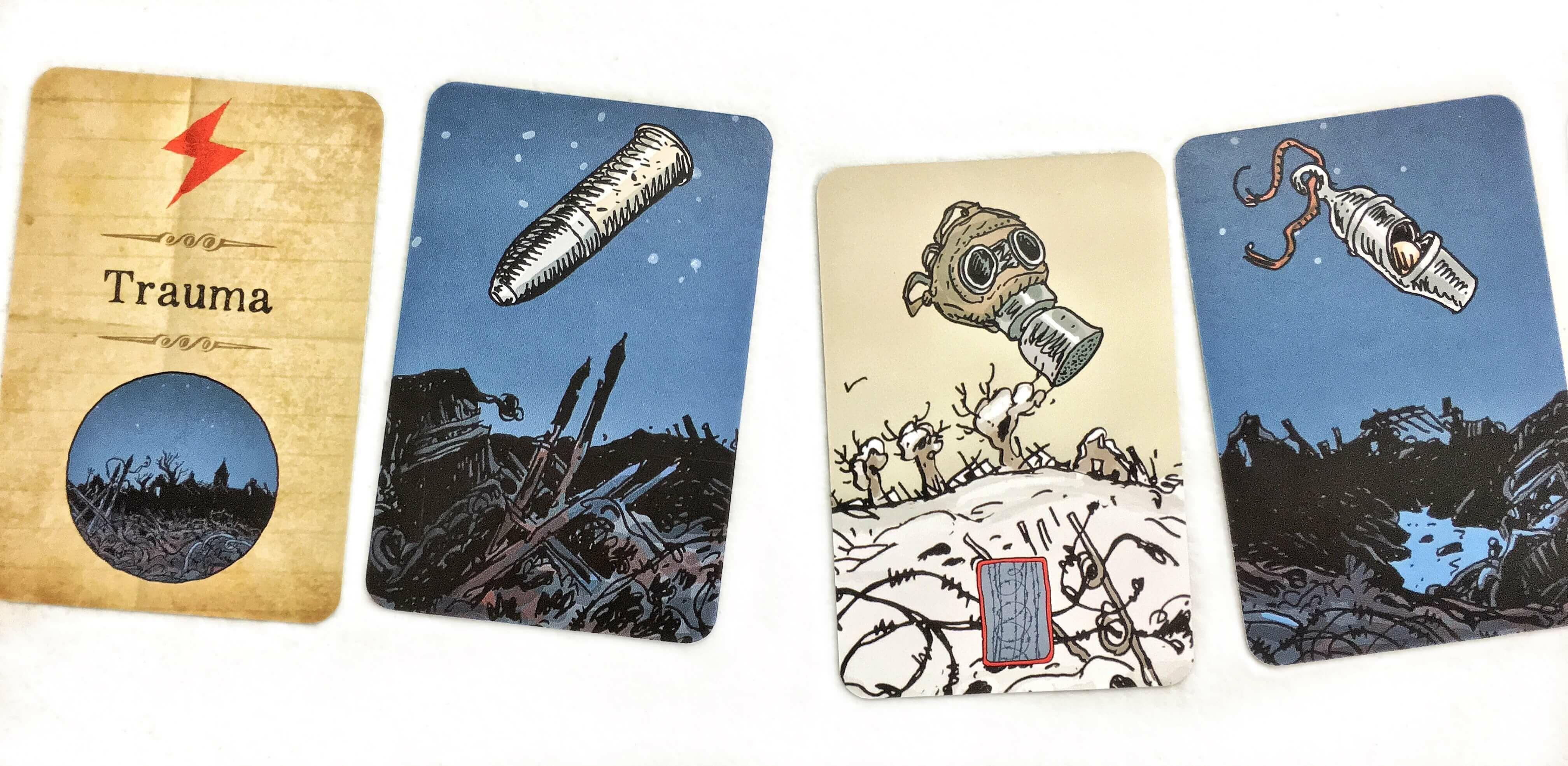 the grizzled kártyák