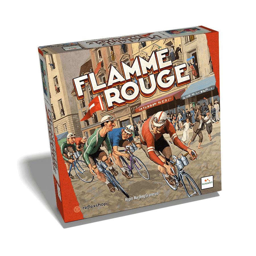 Lautapelit Flamme Rouge társasjáték