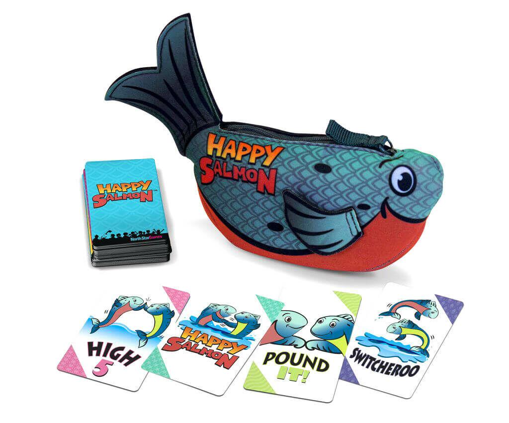 Happy Salmon társasjátékok
