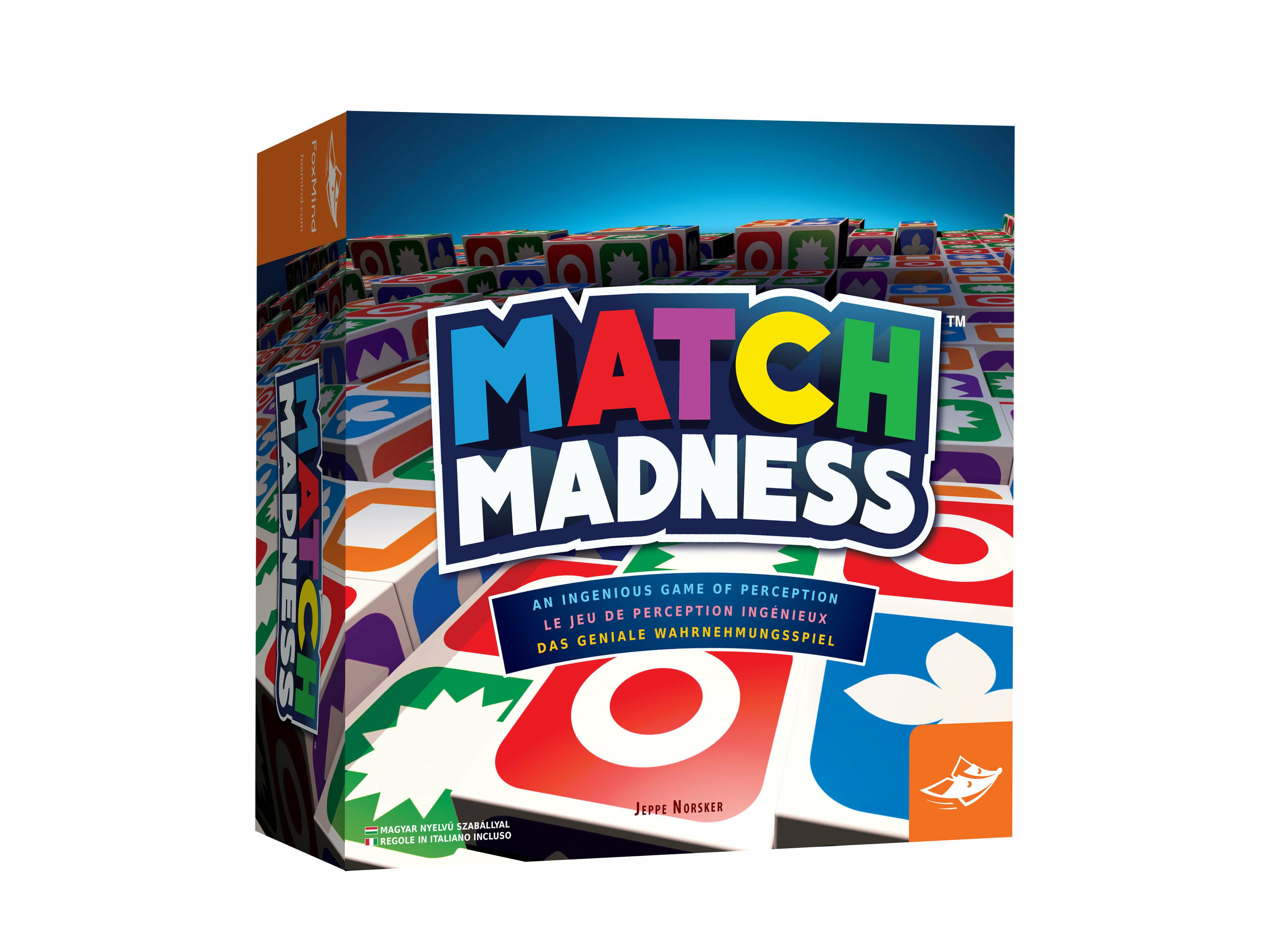 FoxMind Match Madness társasjáték