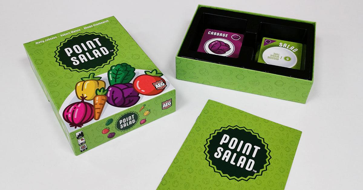 Point Salad - a doboz tartalma, komponensek, insert