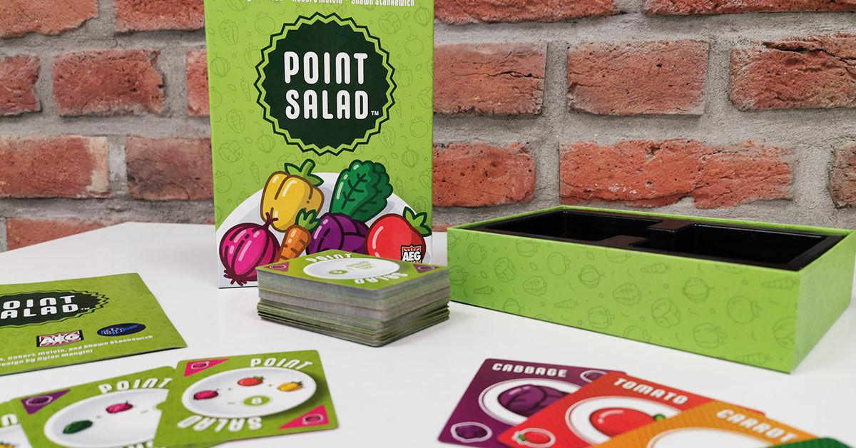 Point Salad társasjáték: egy draftolós pontsaláta