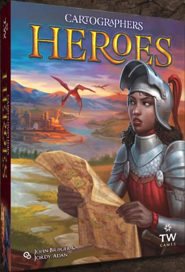 Cartographers Heroes angol doboz