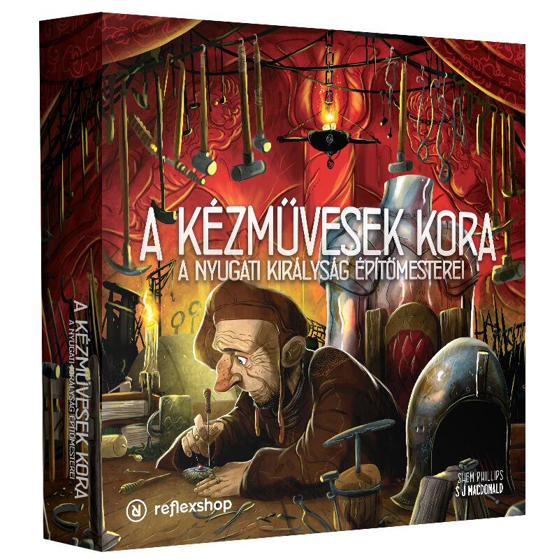 A Nyugati Királyság Építőmesterei kiegészítője, az Age of Artisans magyar kiadása, A kézművesek kora