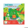 Kép 1/2 - Djeco Mémo Tropico társasjáték