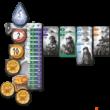 Kép 3/4 - Nidavellir - Játékostábla, egy játékos kártyái, pénzérméi