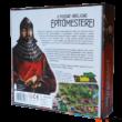 A nyugati királyság építőmesterei társasjáték - doboz hátulja